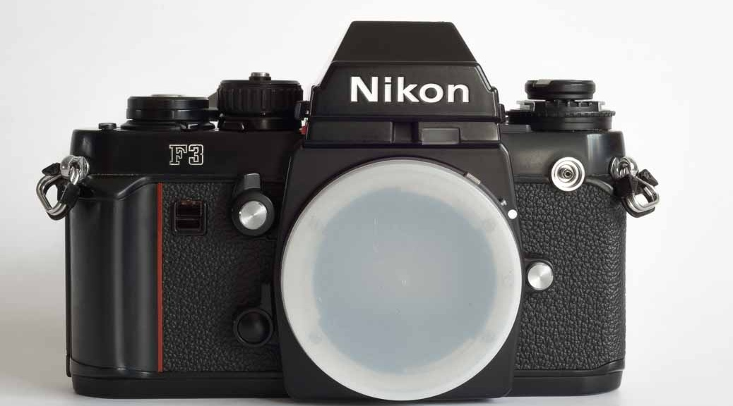 Nikon F3 film camera for sale in Chesterfield, Derbyshire