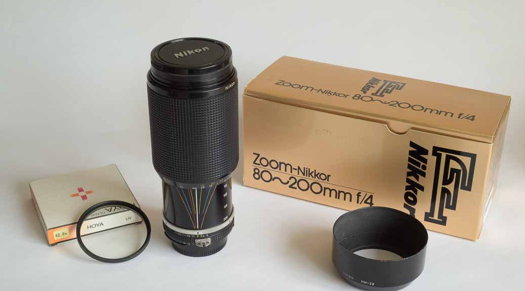 Nikon 80 - 200mm F4 AIS zoom lens for sale in Chesterfield, Derbyshire