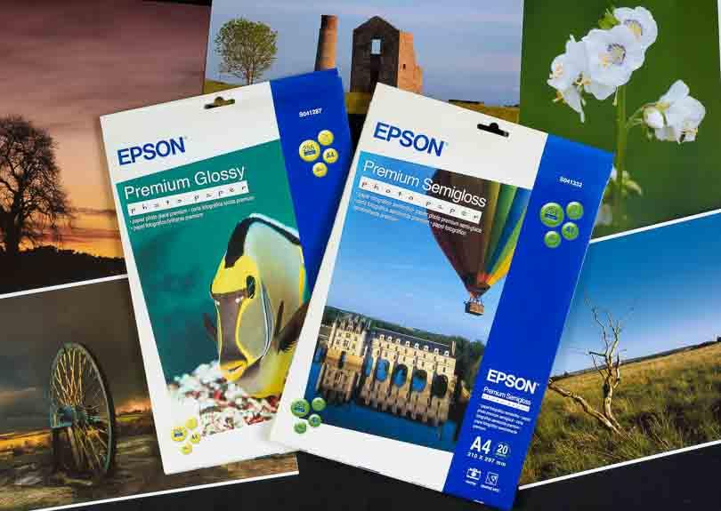 Epson Premium Glossy & Premium Semigloss photo paper