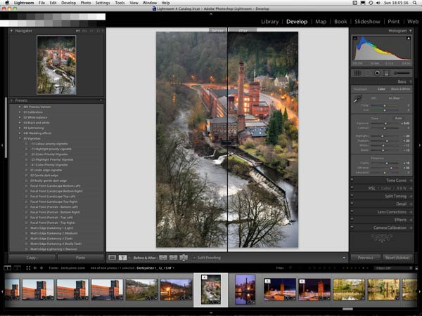 Training in Adobe Lightroom in Chesterfield and Derbyshire