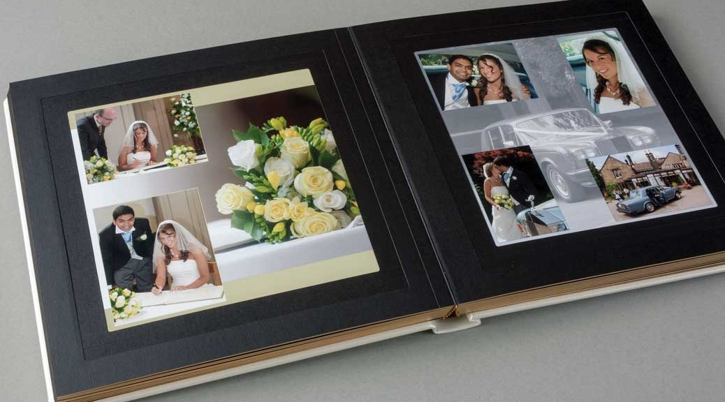 Handmade Italian wedding album for sale