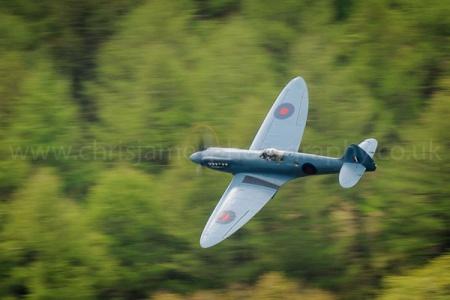 Spitfire PRXIX PM631 of the Battle of Britain Memorial Flight